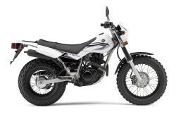 YAMAHA TW200 white