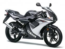 YAMAHA TZR50 brown
