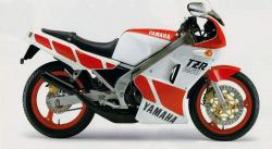 YAMAHA TZR brown