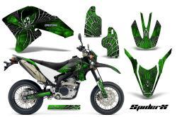 YAMAHA WR green