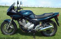 YAMAHA XJ 600 silver