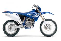 YAMAHA XR 250 white