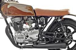 YAMAHA XS 400 brown