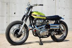 YAMAHA XS 650 CUSTOM brown