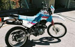 YAMAHA XT 350 blue