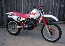 YAMAHA XT 350 white