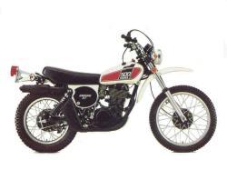 YAMAHA XT 500 S engine