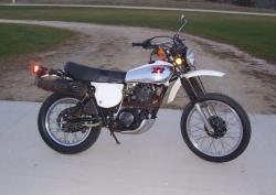 YAMAHA XT 500 S white