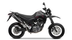 YAMAHA XT 500 black