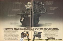 YAMAHA XT 500 engine