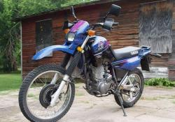 YAMAHA XT 600 blue