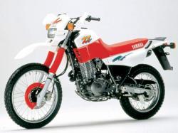 YAMAHA XT 600 white