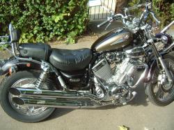 YAMAHA XV 535 black