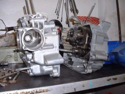 YAMAHA XV 535 engine