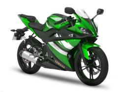 YAMAHA YZF-R125 green