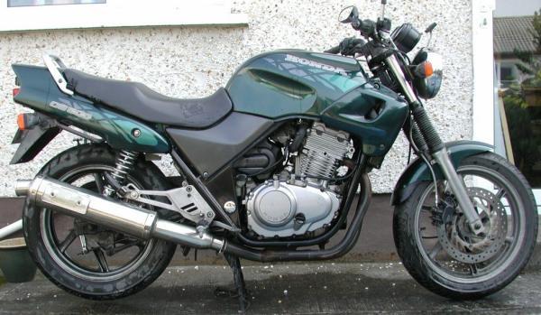 Honda CB500 twin