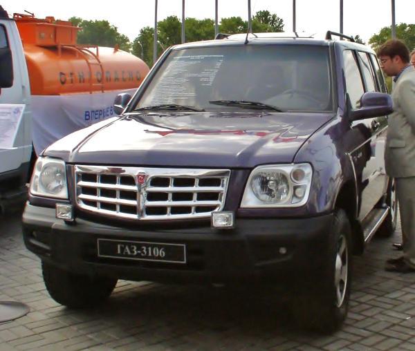 GAZ 31061 Ataman-2 concept SUV